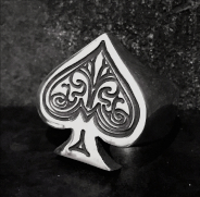 Ace Of Spades Ring