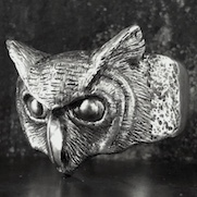 Horned Owl Ring