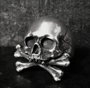 Death or Glory Skull Ring