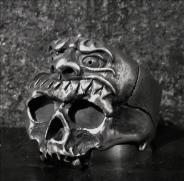 Shuten Doji Skull Ring