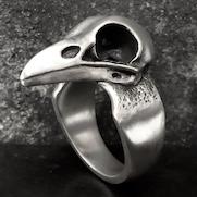 Bird Skull Ring