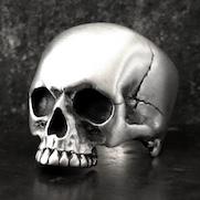Mr Senegas Skull Ring