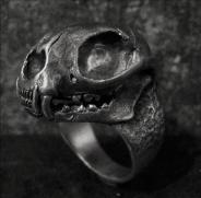 Cat Skull Ring