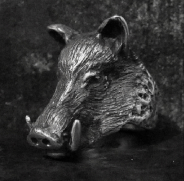 Small Boar Ring