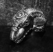 Tibetan Goat Skull Ring
