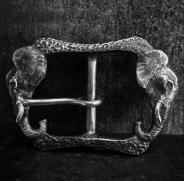 Elephant Belt Buckle