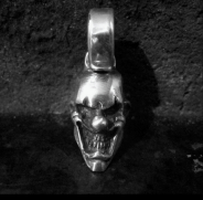 Carnival Clown Pendant