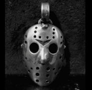 Large Hockey Mask Pendant