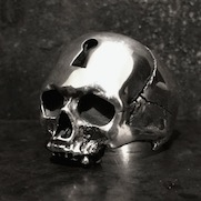 Key Hole Skull Ring