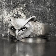 Horned Owl Ring