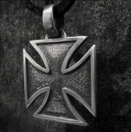 Large Iron Cross Pendant