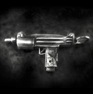 Machine Gun Pendant