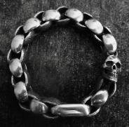 One Skull Bracelet