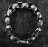 Two Skulls Bracelet