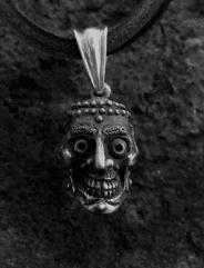 Tibetan Skull Pendant