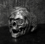 Mummy Skull Ring