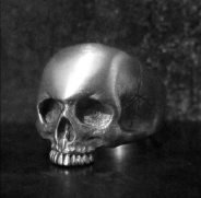 Small Steady Skull Ring