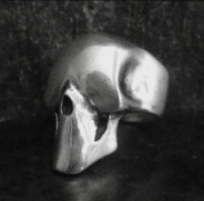 Smooth Skull With Jaw Ring