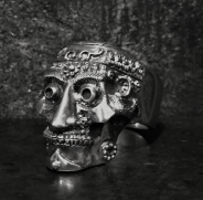 Tibetan Kapala Skull Ring