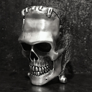 Frankenstein Skull Ring
