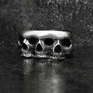 Asyura Skull Ring