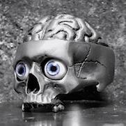 Medical Skull Ring with eyes