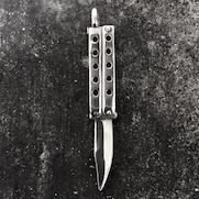 Butterfly Knife Pendant