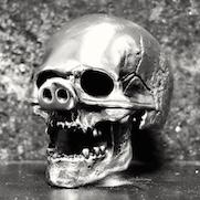 Pig Nose Skull Ring