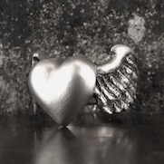 Heart Wing Ring