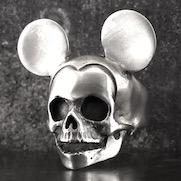 Mouse Skull Ring