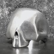 Smooth Skull Ring
