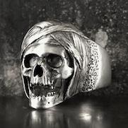 Mummy Skull Ring