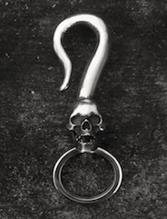 Skull Hook Key Chain