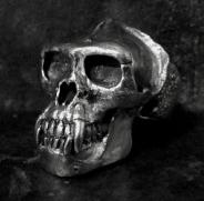 Gorilla Skull Ring