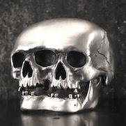 Creepy Skull Ring