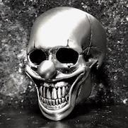Clown Skull Ring