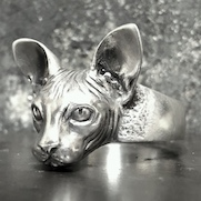 Sphynx Cat Ring