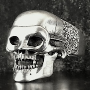 Masquerade Skull Ring