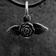 Tiny Rose Pendant