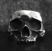 Half Skull Bangle