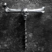 Skull wine opener Silver