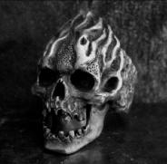 Burning Skull Ring