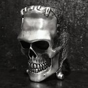 Frankenstein Skull Ring