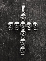 Skull Cross Pendant