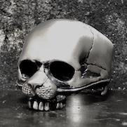 Whisker pad Skull Ring