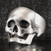 Geriatric Skull Ring
