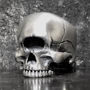 Cyclops Half Skull Ring