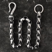Long Box Wallet Chain (23 inch)