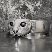 Peeping Cat Ring