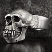Chimp Skull Ring